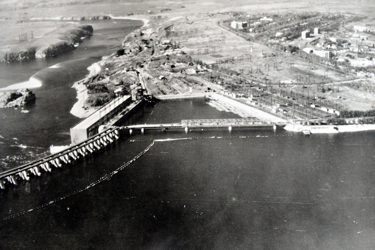 Фото Днепрогэс 1941-1945 г.