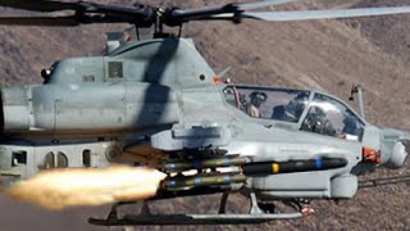 Very Impressive Video of AH-1Z Cobras During Air Support Training Mission