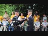 Церемония проверки оружия и внешнего вида солдата