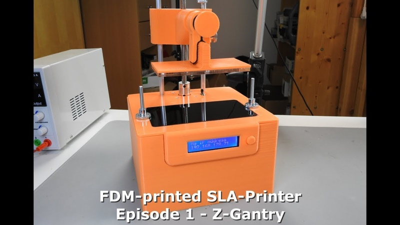 DIY: FDM-printed SLA-Printer - Part 1