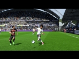 FIFA18 Гол с весьма не близкой дистанции от Санэ