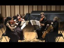 Beethoven Quartet op. 18 n6 part 1,2 Grieg quartet g-moll op27 part 1