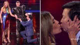 Heidi Klum &amp Ken Jeong Get ENGAGED On TV After NEARLY DYING Together! America's Got Talent 2018