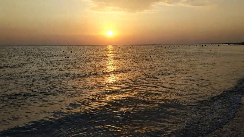 Витязево 02.09.2018. Говорят, море успокаивает. Особенно, когда ты рядом с ним.
