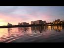 Закат в октябре на Борисовских прудах