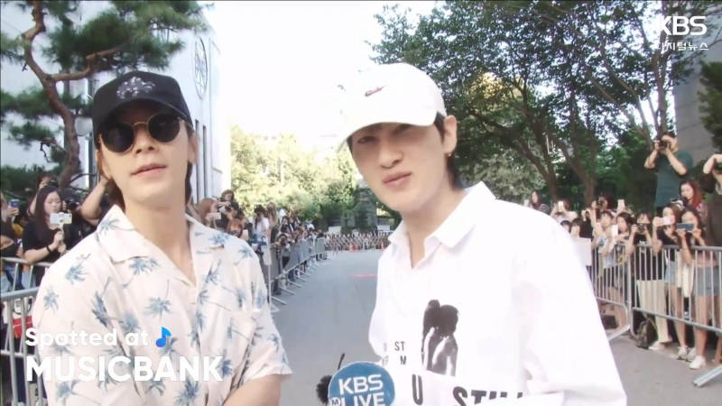 [2018.08.17]Spotted at Music Bank(은혁 동해) By. HEIRA