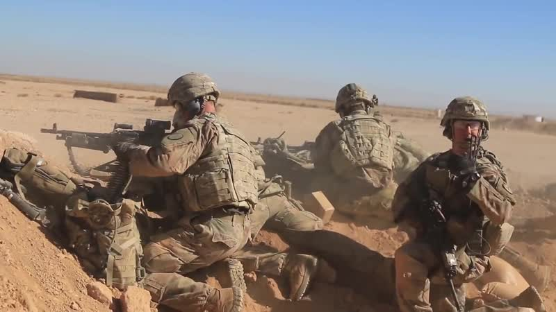 U.S. Army Ground Forces Show Their Capabilities During Exercises in the Desert