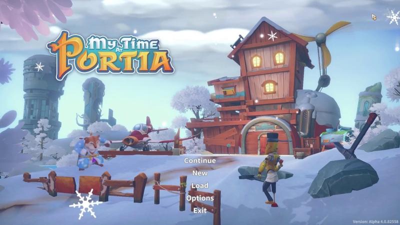 My Time At Portia Winter Solstice Update Recap (Steam)