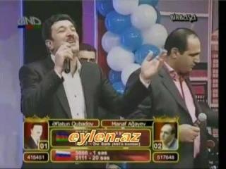 Eflatun Qubadov   Manaf Agayev - Tacir - Ana Mene Laylay De - Deyisme   orginal