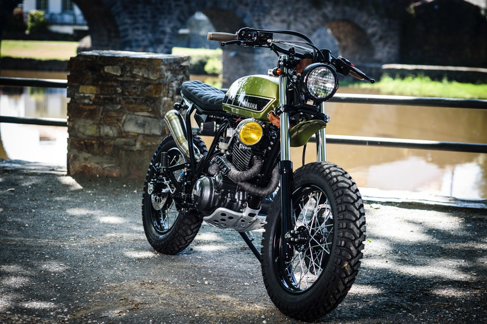 Bold Motorcycles: скрэмблер Yamaha XT600 B003