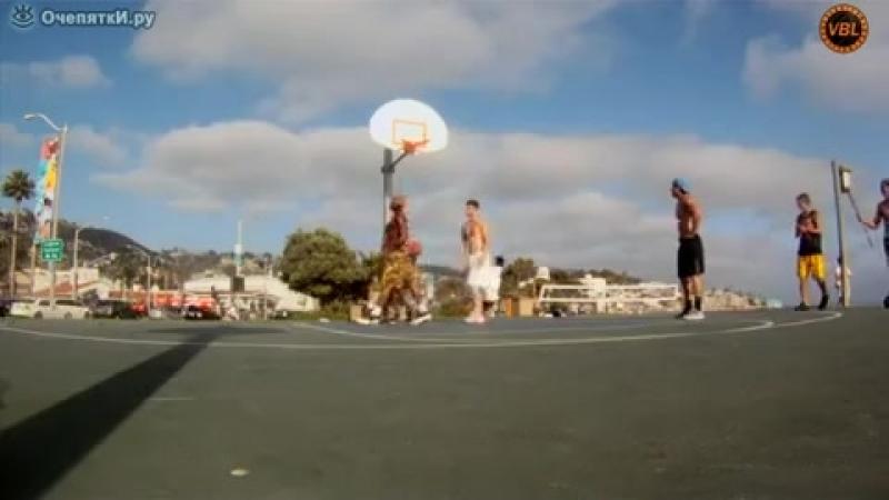 Удаленький баскетболист