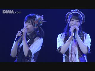 Kushiro Rina, Ijiri Anna, Jonishi Rei, Nakagawa Mion + BD - Manatsu no Christmas Rose @ 180914 NMB48 Stage BII4