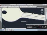 3D Моделирование в AutoCAD. Моделирование ключа. 3д автокад.