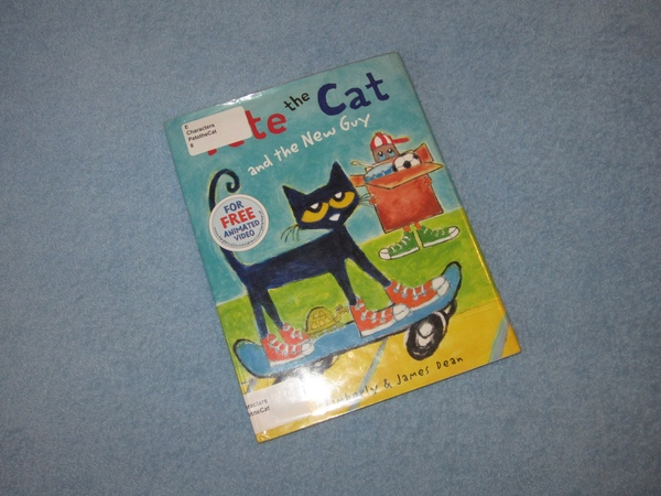 Pete the Cat and The New Guy Childrens Read Aloud Story Book For Kids By James Dean