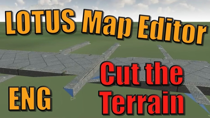 LOTUS Map Editor 2 - Cutting algorithm [ENG]