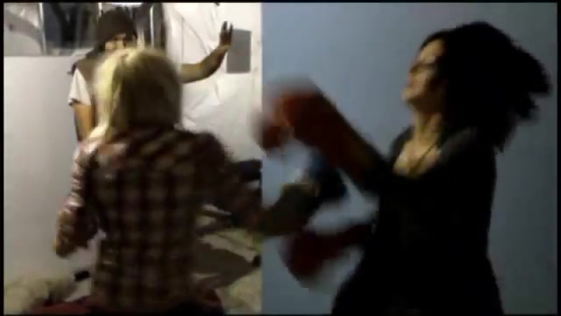 Chick Fight! Heidi Vs. Emily! Boxing Match!