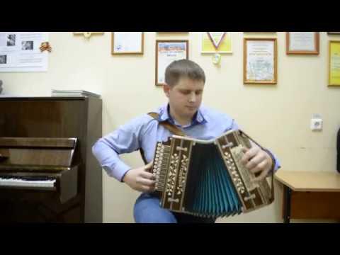 Частушечный наигрыш Сормач на гармони мастера Кондратьева В.Л.