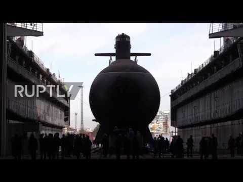 Russia: Kronstadt diesel-electric sub launched in St. Petersburg