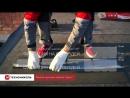 Серия 9 Монтаж гибкой черепицы ТЕХНОНИКОЛЬ SHINGLAS