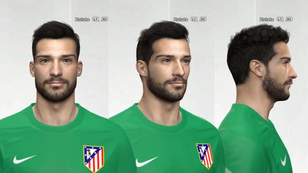 Moya face for Pro Evolution Soccer PES 2016 & 2015 made by Am - PESFaces - Download realistic faces for Pro Evolution Soccer