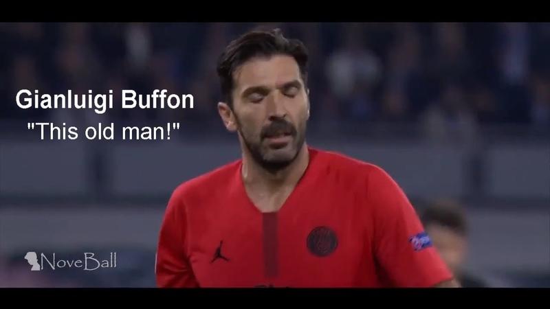 Gianluigi Buffon vs Napoli (Away 2018/19) 40 Year Old | NoveBall