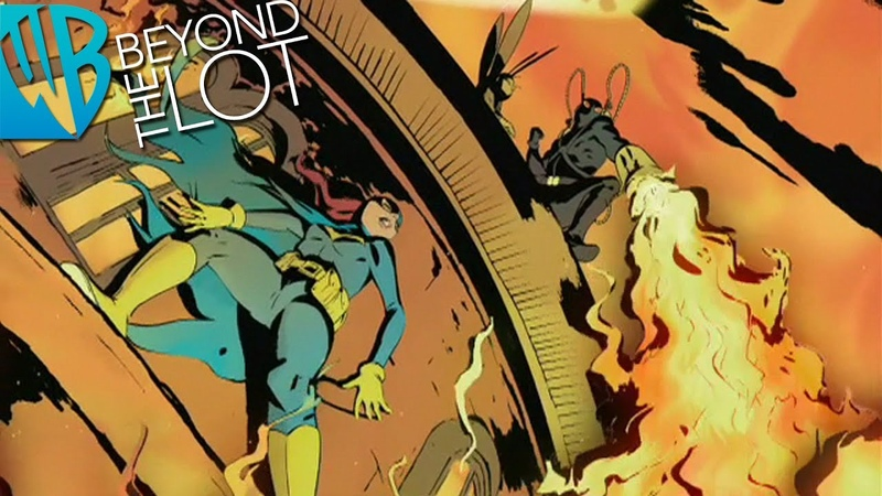 Batgirl Year One Motion Comics 9: Ashes and Blood, Pt. 1