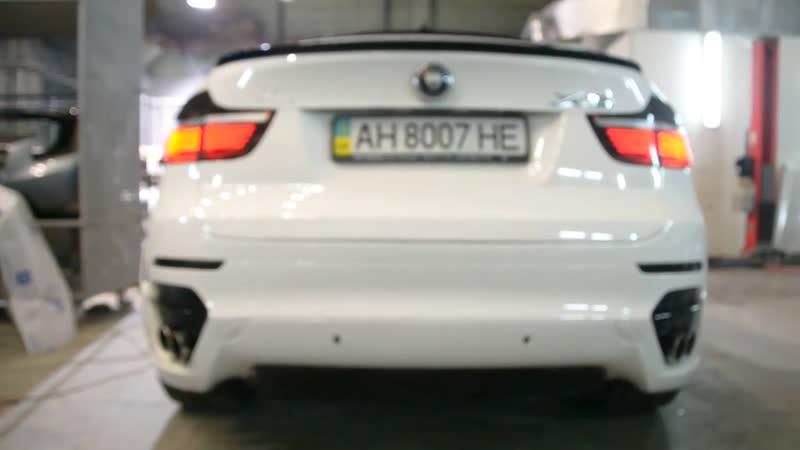 Выхлопная система exhaust от Guru Tuning для BMW X6 E71 35dX 35iX