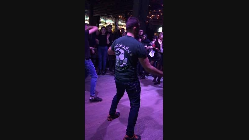 Бармен-шоу 30 ноября! Арт-бар! Запись с прямой трансляции Instagram