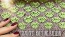 Вяжем изумительный узор Scallops спицами / How to knit Beautiful Pattern