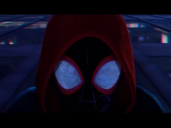 Майлз Моралес становится Человеком Пауком Человек Паук Через Вселенные 2018