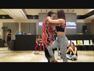 Jojo & Macarena Paton @ Kizomba Open Festival 2018