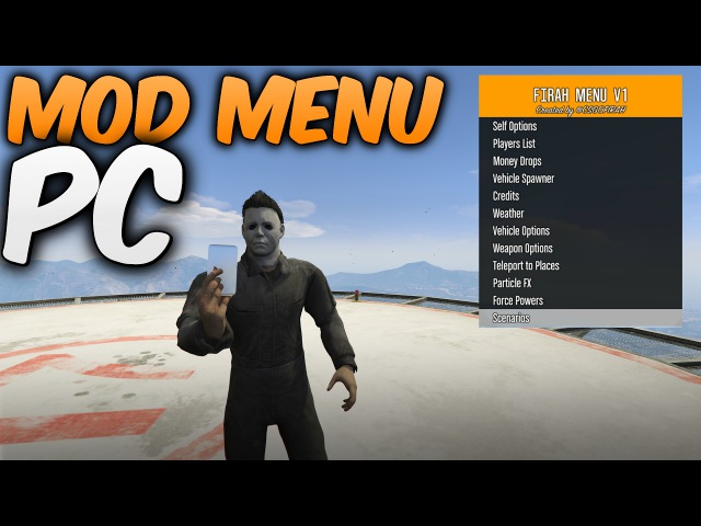 GTA 5 PC Mod Menu 1 37 'Firah Menu 1 40' Unlimited Money 💰 1 37 PC