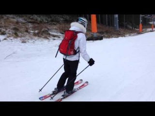 My first experience on ski =)