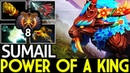 SumaiL Mirana Power of a King Crazy Game 7 20 Dota 2