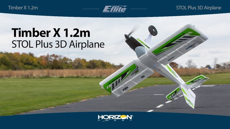 E-flite® Timber X 1.2m PNP BNF Basic
