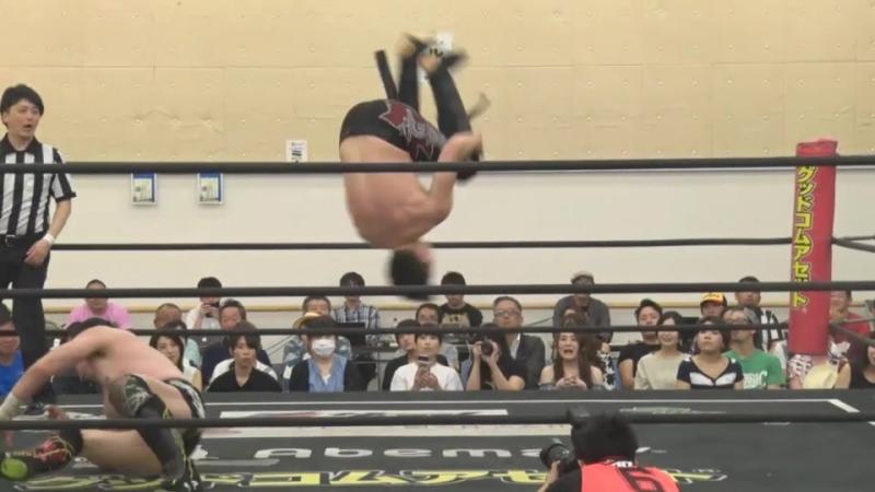 Koji Kanemoto, Mizuki Watase vs. MAO, Mike Bailey (DDT - DNA 45)