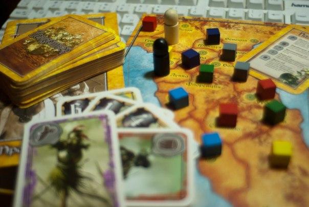 Карты, правила и фишки игры Кондотьер