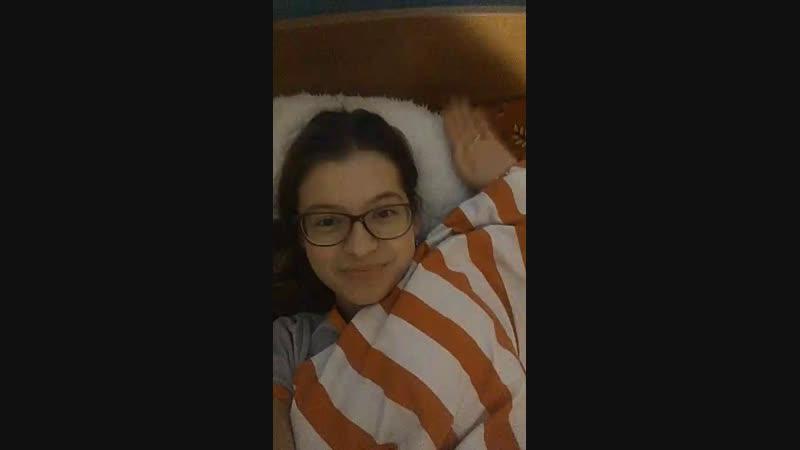 Видео в кроватке