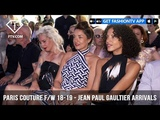 Naomi Campbell Jean Paul Gaultier Arrivals Paris Haute Couture FallWinter 2018-19 FashionTV FTV