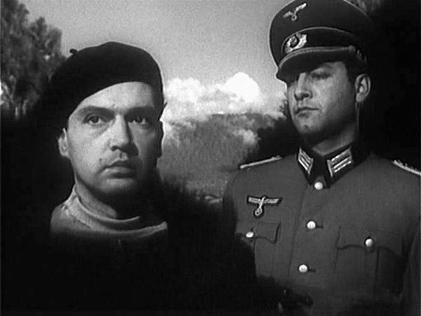 Вдали от Родины фильм, 1960, Лейтенант Гончаренко под именем фон Гольдринга заброшен в Германию