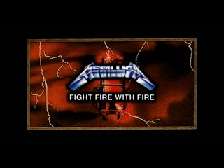 Metallica / fight fire with fire / live / metal hammer festival / 1985