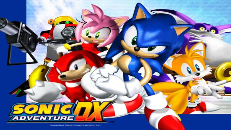 [Sonic Adventure DX: Director's Cut] - TRIALS MISSIONS - BreathlessRose