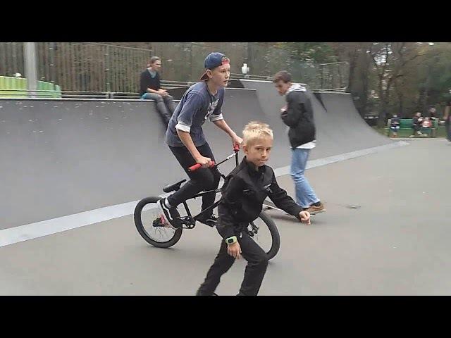 BMX - Трёшка, икс ап и ситгреб тобоган