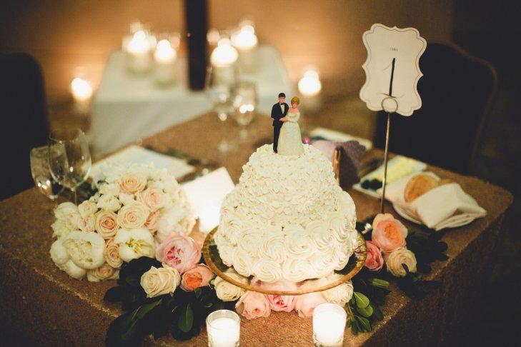 p RdSOrZwaI - Золотые и серебряные свадебные торты 2016 (70 фото)