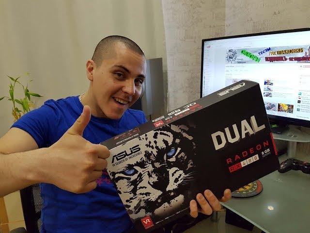 Radeon RX 480 8Gb Asus Dual OC edition