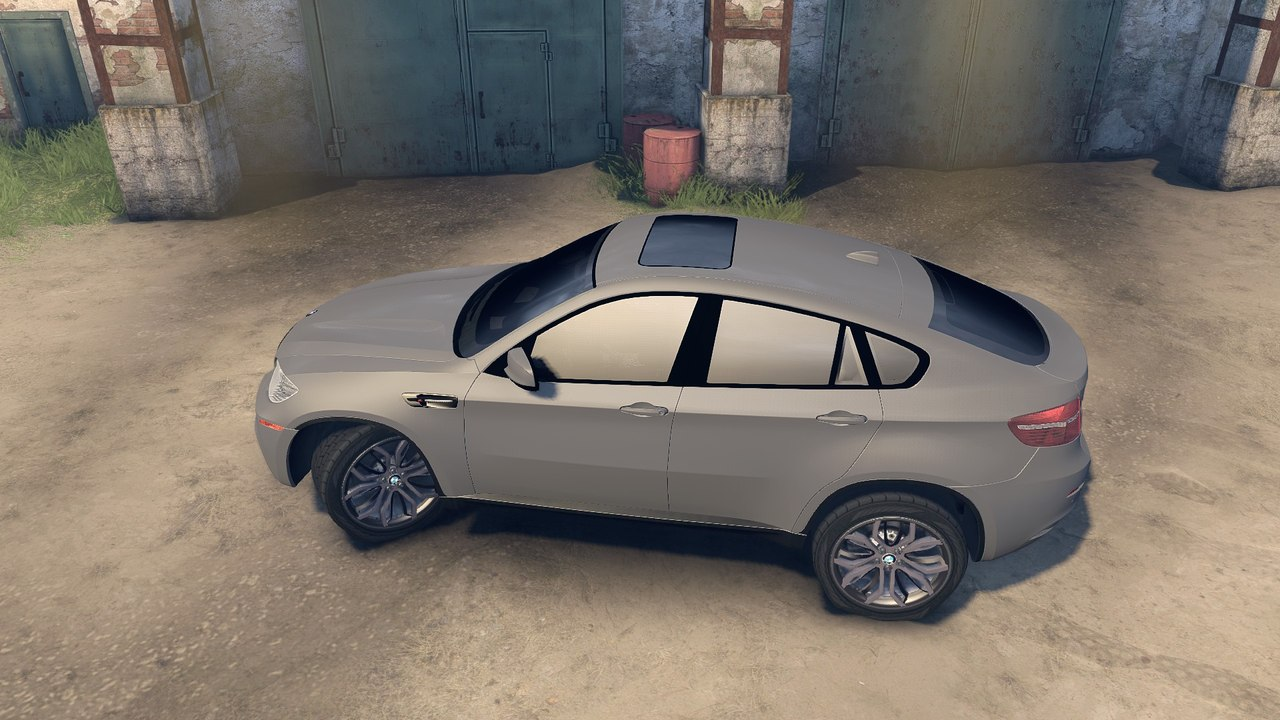 BMW X6M v.2.0 для Spintires - Скриншот 2