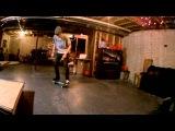 Финты и трюки на скейте в замедленном виде. Обучение финтам на скейтбордах.