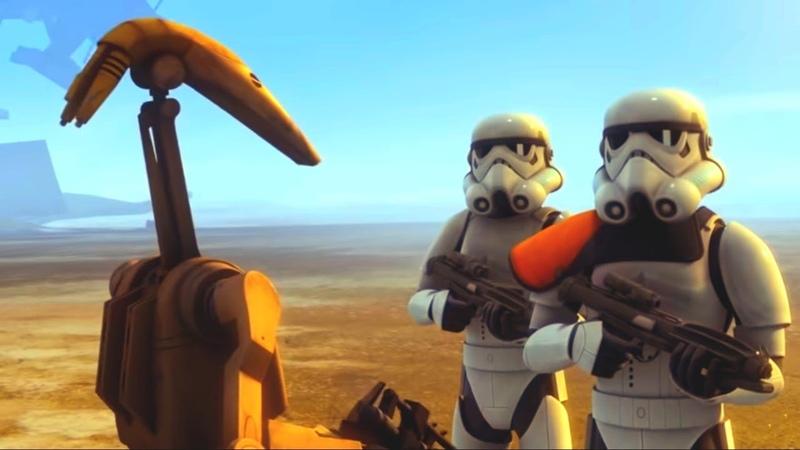 Звёздные войны Повстанцы - Последний бой - Star Wars (Сезон 3, Серия 6) | Мультфильм Disney