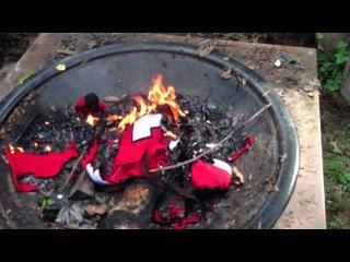 ilya kovalchuk jersey getting burned