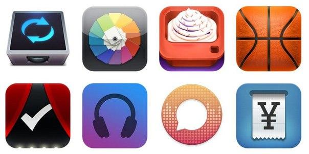 9 сайтов с примерами качественных иконок приложений для мобильных устройств